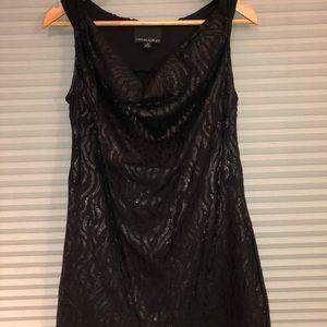 Cynthia Rowley dressy sparkly black top.
